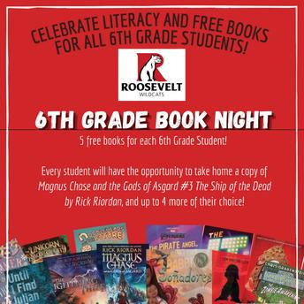 6th Grade Book Night