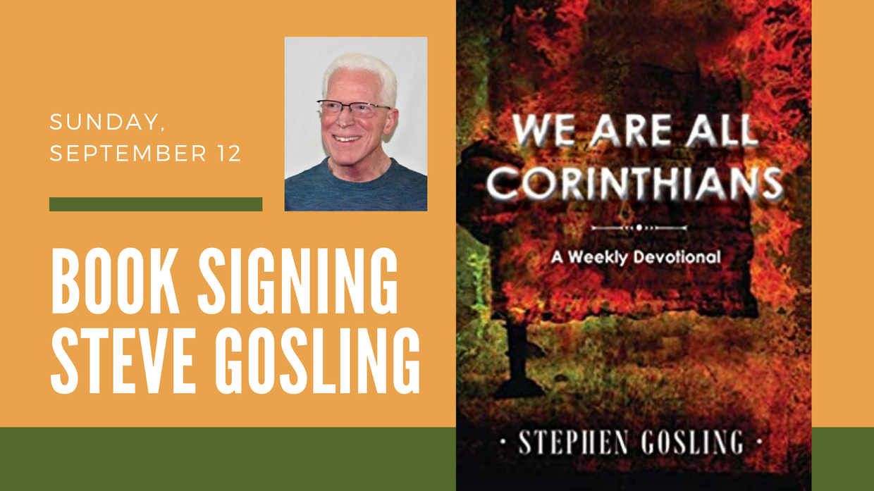 Book Signing by Steve Gosling