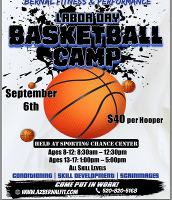 BASKETBALL CAMP OPPORTUNITY