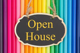 Open House will be September 14th from 6:30-8:30
