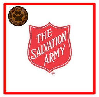 THANKSGIVING & CHRISTMAS SUPPORT FROM THE SALVATION ARMY