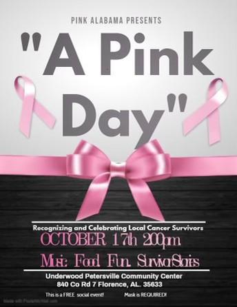 "Pink Alabama Presents ""A Pink Day"""
