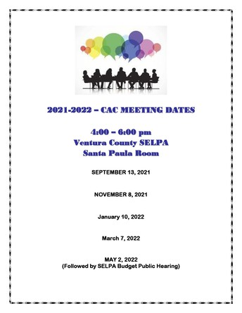 Next CAC Meeting: