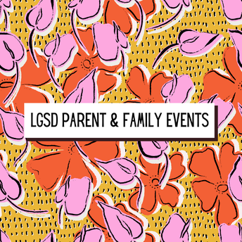 October Parent and Family Events!