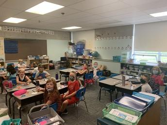 Grade 1 at AES!