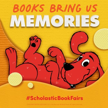The Scholastic Book Fair is coming to MES!