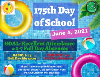 175th Day of School!