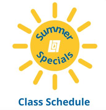 Summer Specials Sign Ups Open