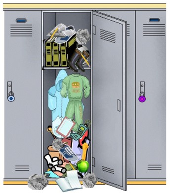 Locker Clean Out!