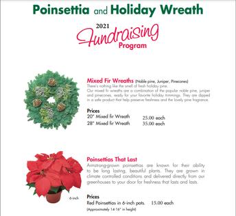 Wreath and Poinsettia Fundraiser
