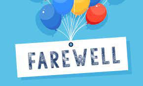 Finish Well - Farewell