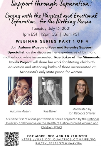 3. Webinar: Support through Separation-Coping with the Physical and Emotional Separation…for the Birthing Person (Webinar Series Part 1 of 4)