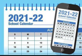 2021-2022 School-Year Calendar