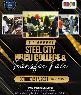 9th Annual Steel City HBCU College & Transfer Fair!