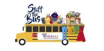 Tomball Education Foundation: Stuff the Bus