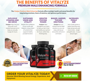 Vitalyze Pro Male Enhancement Review 2021