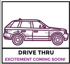 Upcoming Drive Thru for Awards & More