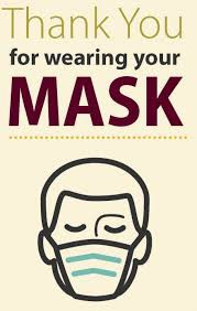 Masks Required In All Buildings Beginning Monday August 9, 2021