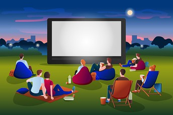 Outdoor Movie Night-October 1st Save the Date