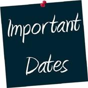 Important Dates in September /Fechas importantes en septiembre