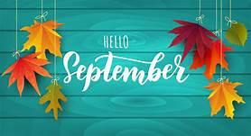 It's September!!