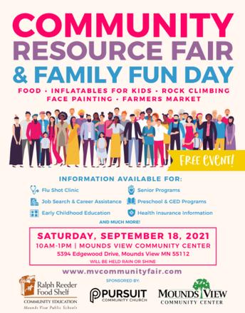 Community Resource Fair & Family Fun Day