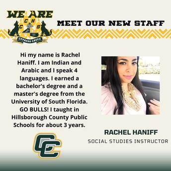 Rachel Haniff