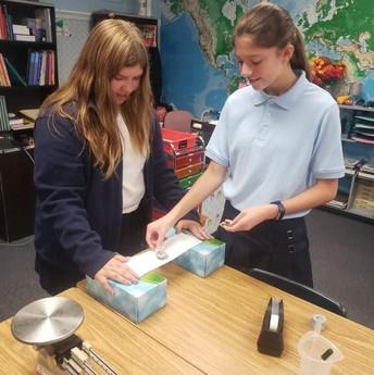 7th & 8th grade experiments