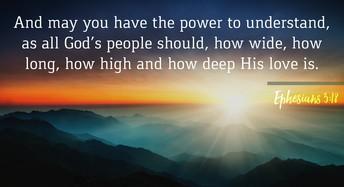 God's Word to Encourage