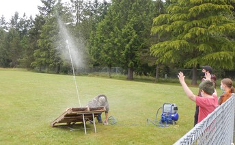 5th-Grade Bottle Rocket Launch Tradition Continues