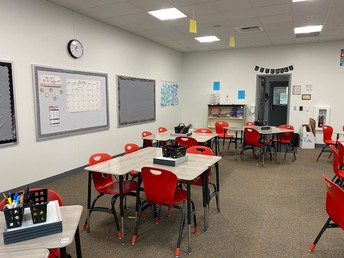 New classroom in the 1000 building!