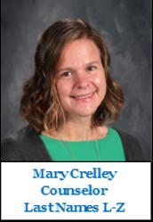 Mrs. Mary Crelley
