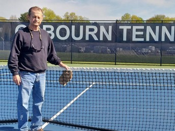 As the last original Eagle, Glen Strickland says goodbye after 43 years coaching tennis at Osbourn High School