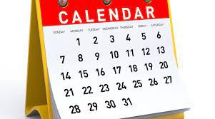 Looking Ahead...Please Note Our 2021-2022 District Calendar!