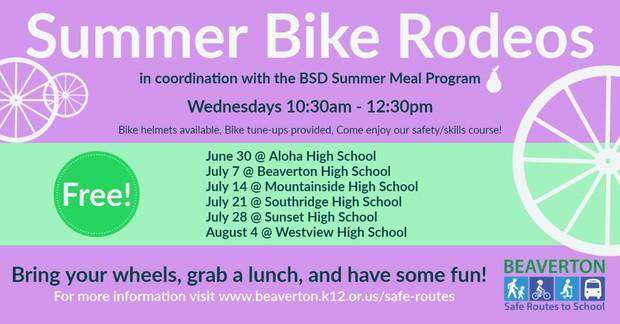 Summer Bike Rodeo Graphic