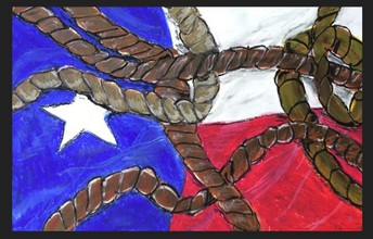 Texas Ropin' by Camden W., 4th Grade
