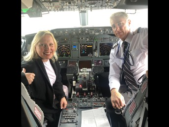 Mrs. Lindsey and the Pilot