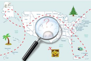 Where is Gina the Geographer?