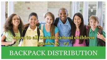 Free Backpacks, School Supplies
