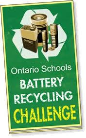 Ontario School battery recycling challenge