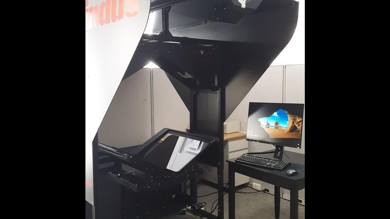 New SDSL Indus V-cradle scanner