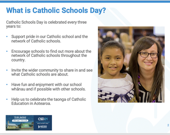 What is Catholic Schools Day?