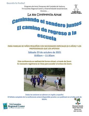 Reserve la fecha: Caminando el camino juntos: el camino de regreso a la escuela