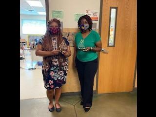 Ms. Stevenson & Ms. Chalmers