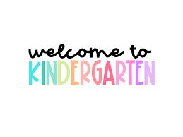 Incoming Kindergarten Information