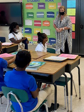 Crestwood students learn about the importance of attending school daily