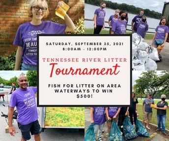2021 Tennessee River Litter Tournament