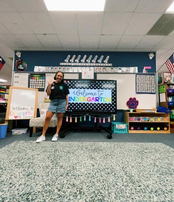 Mrs. Dorman is Ready for the First Day of School!