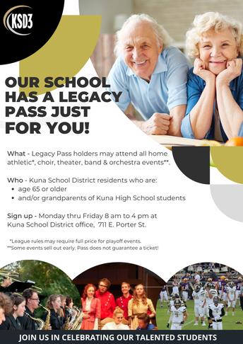 Grandparents - Legacy Program