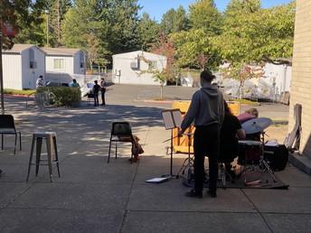 Band Outside